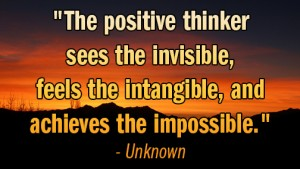 see invisible feel intangible achieve impossible