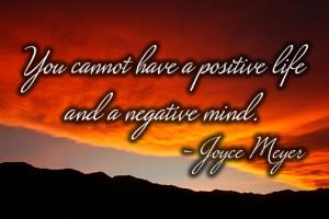 joyce myer positive life negative mind